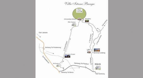 Alamat Villa Istana Bunga