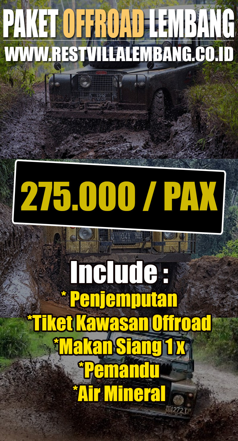 Paket Offroad Lembang Bandung