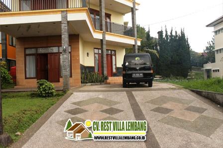 Sewa Villa Istana Bunga 5 Kamar Lembang Bandung