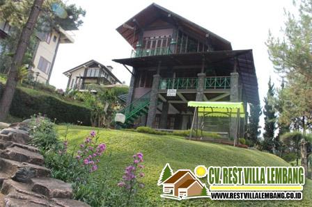 Sewa Villa Istana Bunga 4 Kamar Lembang Bandung