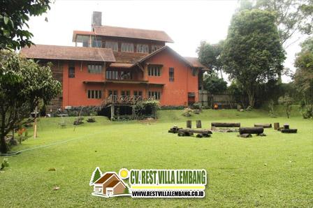 Sewa Villa Istana Bunga 6 Kamar Lembang Bandung