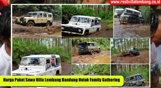 Paket Sewa Villa Lembang Bandung Untuk Family Gathering