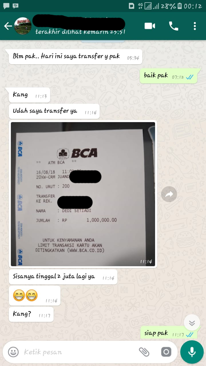 Booking Villa 1 Juta Lembang
