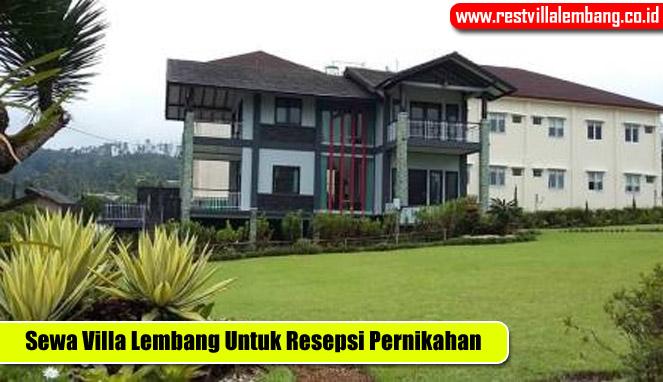 Villa Abah Rekomendasi Villa Untuk Acara Pernikahan