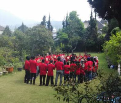 Villa Lembang untuk Reuni
