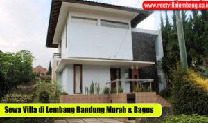 Villa Murah di Lembang Bagus