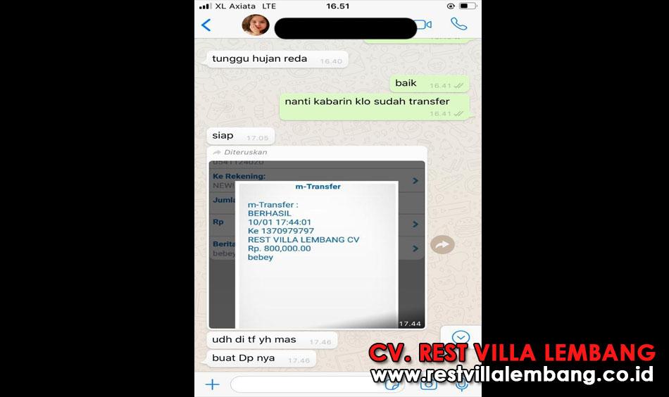 booking villa 800 rb villa