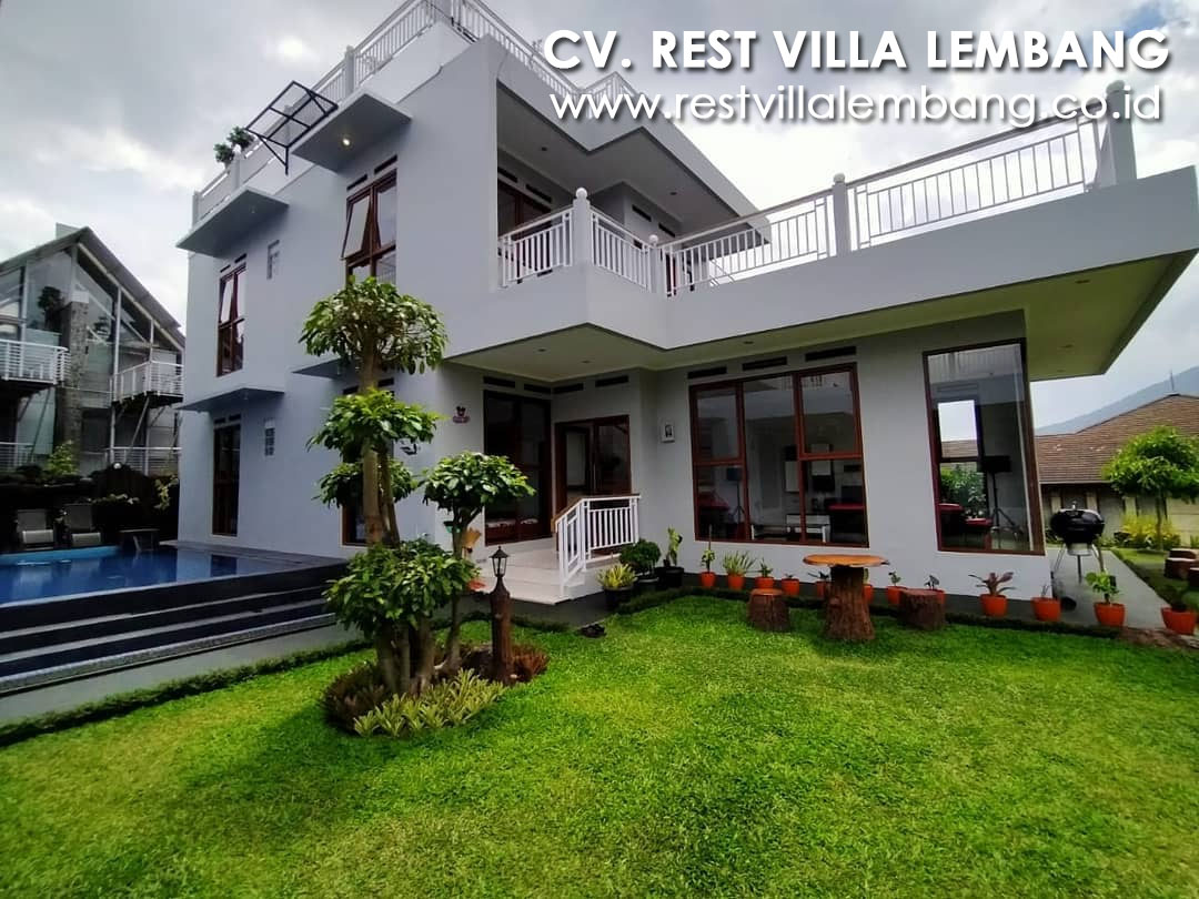 Ekterior Villa Qimoz Lembang