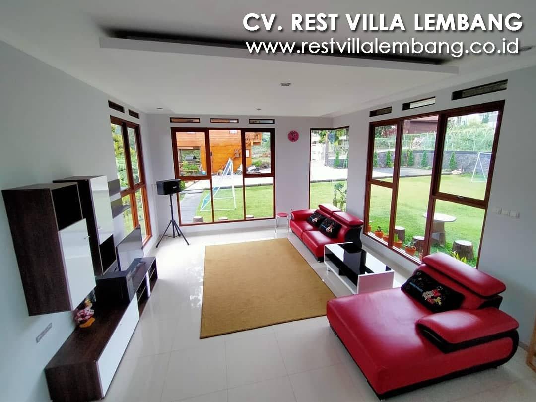 Villa 4 Kamar Lembang Qimoz