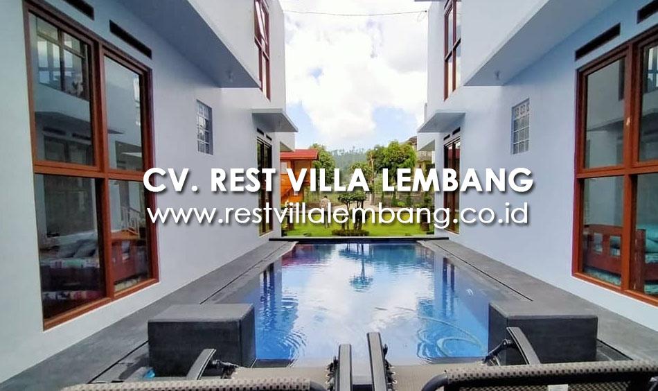 Villa Lembang Liburan Tahun Baru