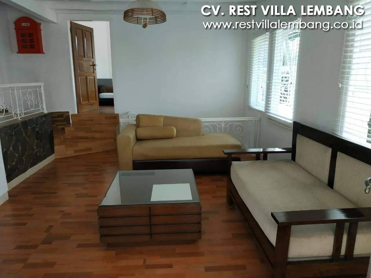 Villa Termurah 4 Kamar di Lembang Tahun Baru